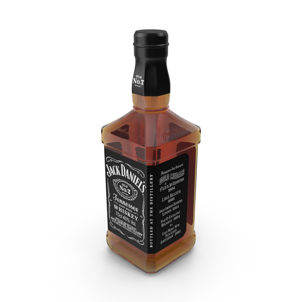Jack Daniels Bottle Object