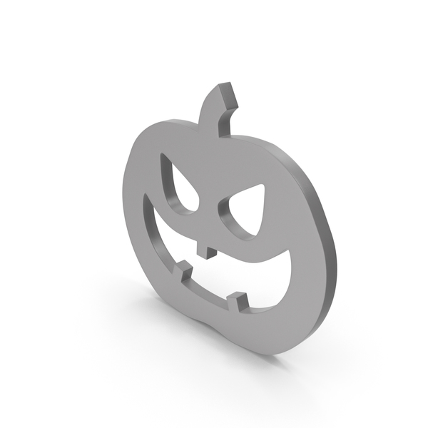 Banner: Jack o Lantern Grey Icon PNG & PSD Images