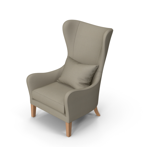 Wingback: Jackson Wing Chair PNG & PSD Images