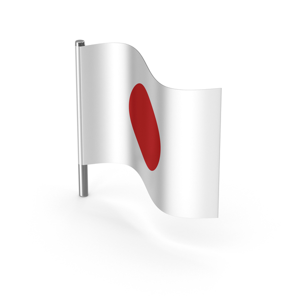 Japan Cartoon Flag PNG & PSD Images