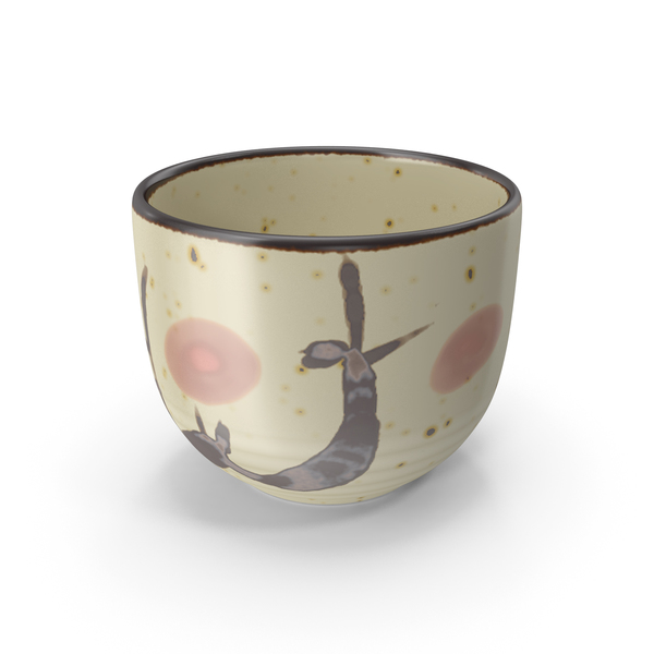 Teacup: Japanese Cup PNG & PSD Images