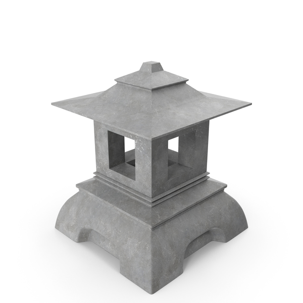 Japanese Stone Lantern PNG & PSD Images