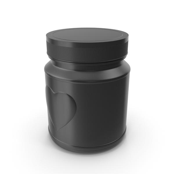 Jar Heart Black PNG & PSD Images