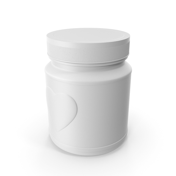 Jar Heart White PNG & PSD Images