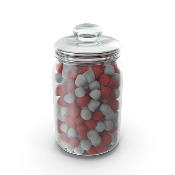 Jar of Gumdrops PNG & PSD Images