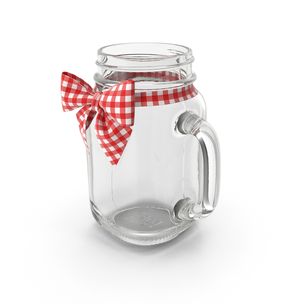 Jar with Bow PNG & PSD Images