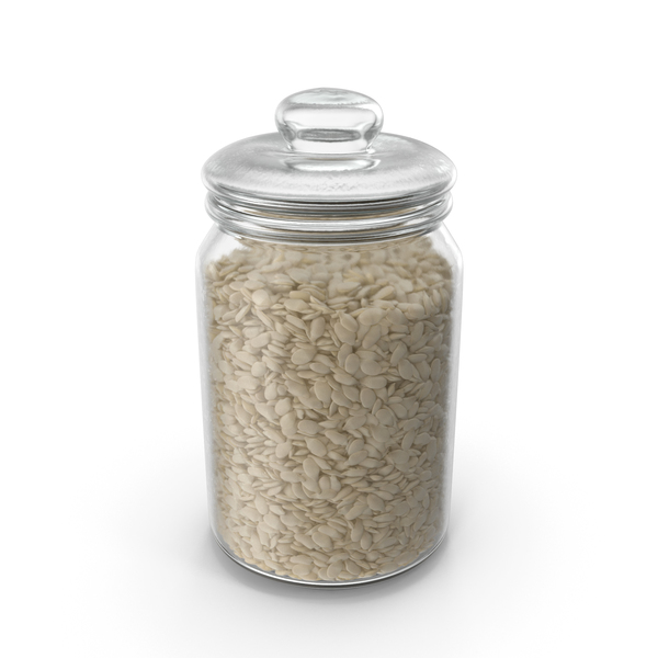 Jar with Seeds PNG & PSD Images