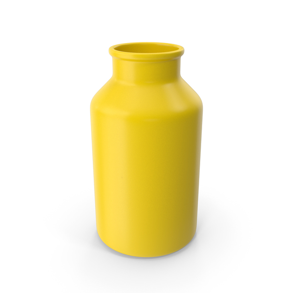 Vase: Jar Yellow PNG & PSD Images