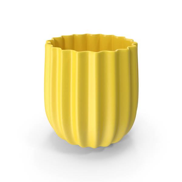 Vase: Jar Yellow PNG & PSD Images
