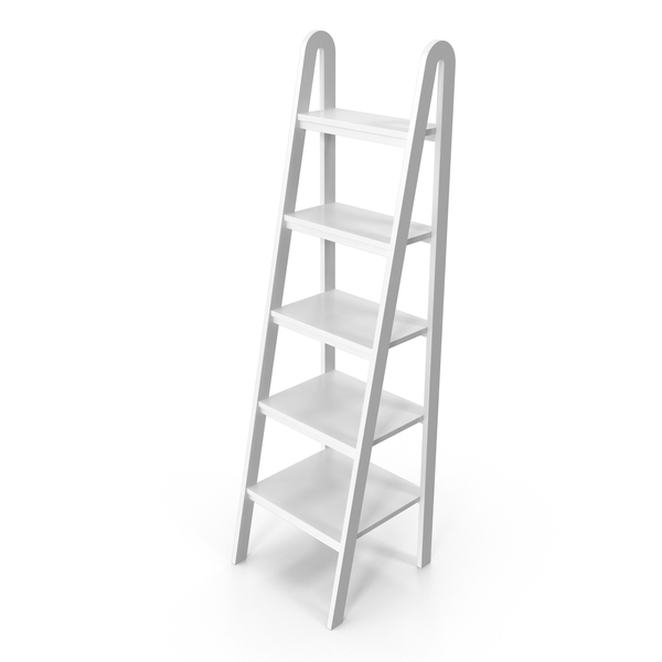 Jaycee Ladder Bookcase PNG & PSD Images