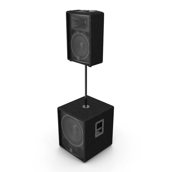 JBL Passive Speakers PNG & PSD Images