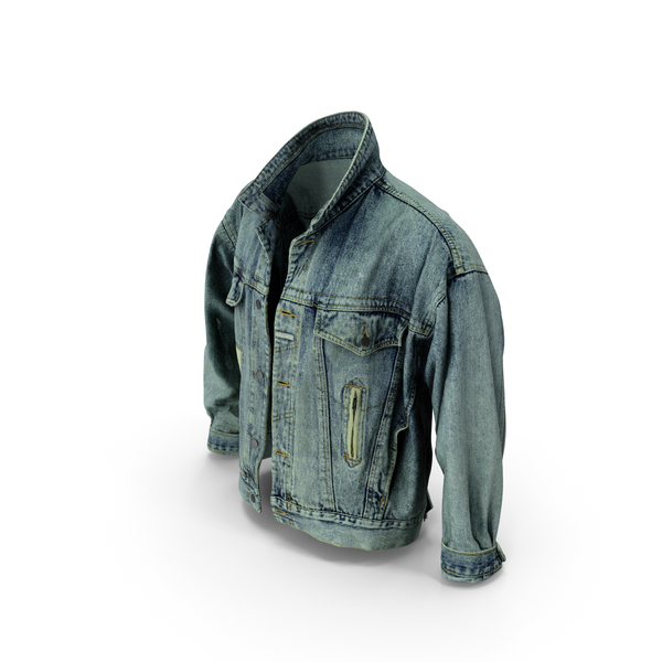 Jean Jacket Dark Blue PNG & PSD Images