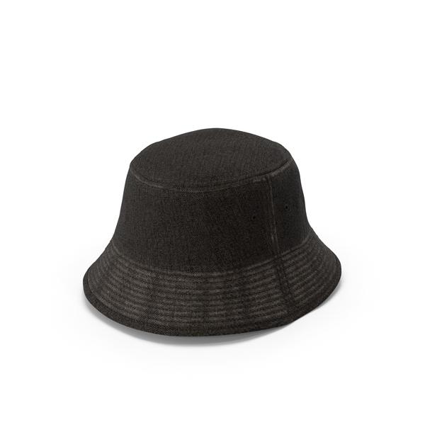 Sun: Jeans Bucket Hat PNG & PSD Images