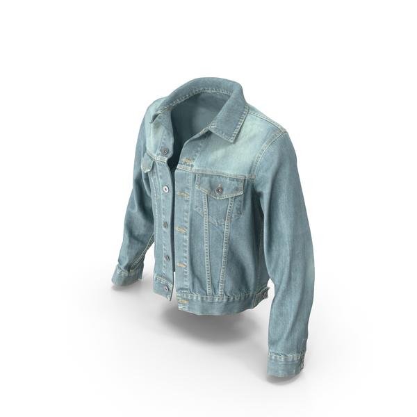Jean: Jeans Jacket Light Blue PNG & PSD Images