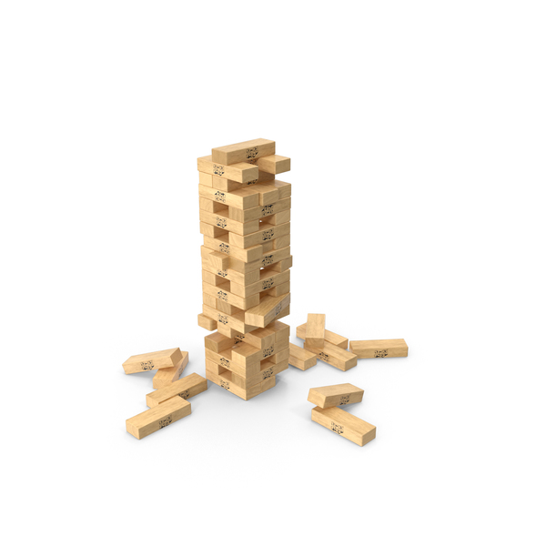 Board Games: Jenga Game PNG & PSD Images