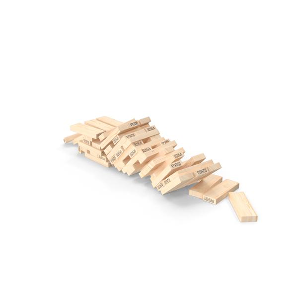 Toys: Jenga Game Bricks PNG & PSD Images