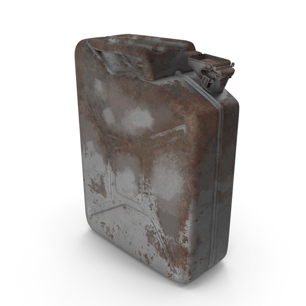 Fuel: Jerry Can Rusted PNG & PSD Images