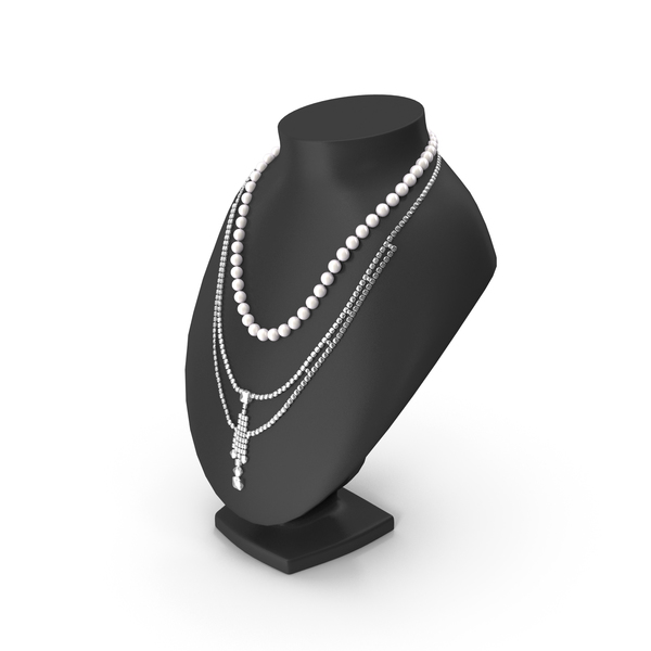Jewelry Necklace Display Stand PNG & PSD Images