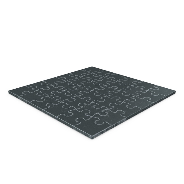 Jigsaw Puzzle 6x6 Steel PNG & PSD Images