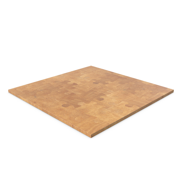Jigsaw Puzzle 6x6 Wood PNG & PSD Images