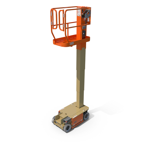JLG 1230ES Driveable Vertical Mast Lift PNG & PSD Images