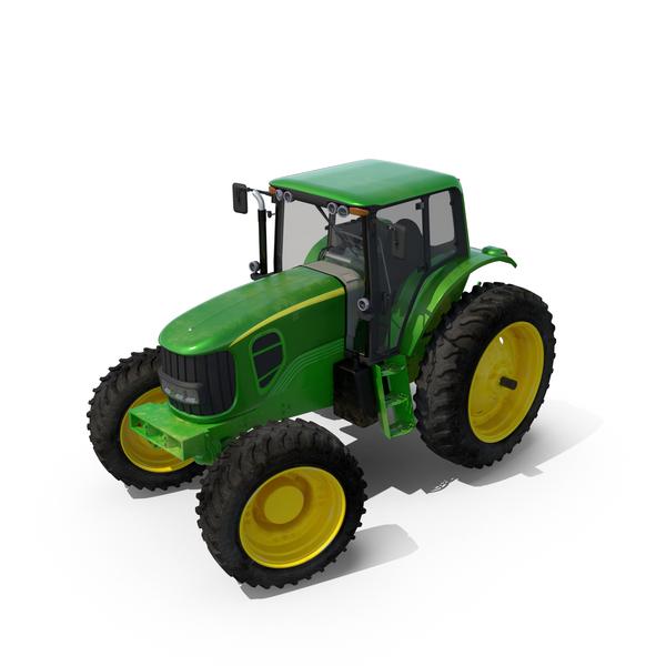John Deere Tractor 7330 PNG & PSD Images
