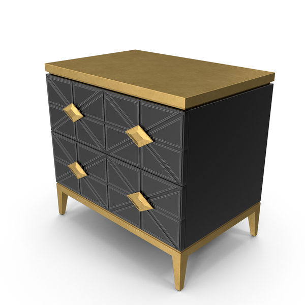 John Richard Andria Nightstand PNG & PSD Images