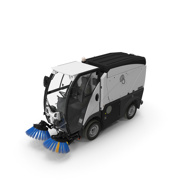 Johnston CN101 Compact Road Sweeper PNG & PSD Images