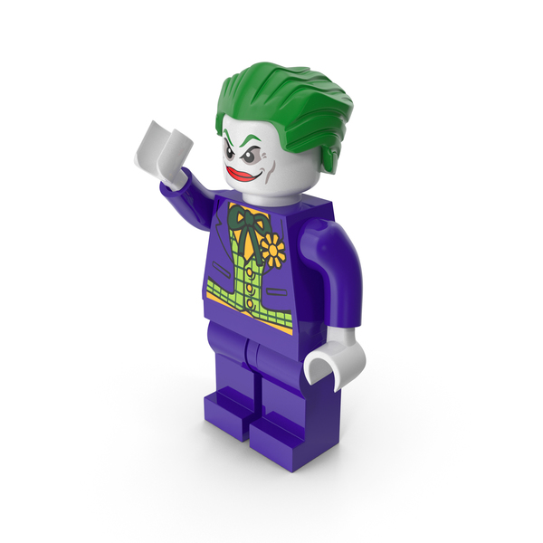 Lego Toys: Joker Pose PNG & PSD Images