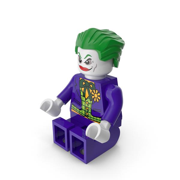 Lego Brick: Joker Sitting PNG & PSD Images