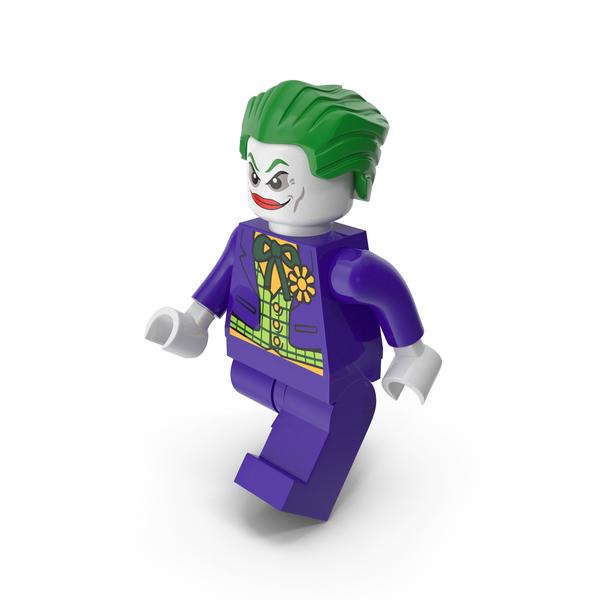 Lego Brick: Joker Walk PNG & PSD Images