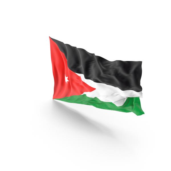 Jordan Flag PNG & PSD Images