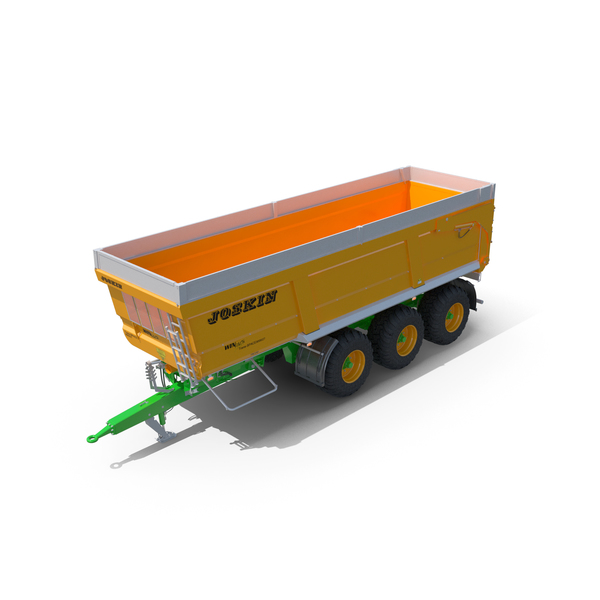 Joskin Trans-Space 8000 Farm tractor trailer PNG & PSD Images