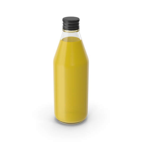 Juice Bottle Glass No Label PNG & PSD Images