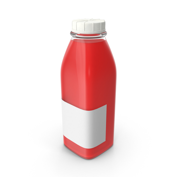 Juice bottle Mockup Object