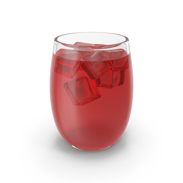 Juice Glass With Ice PNG & PSD Images
