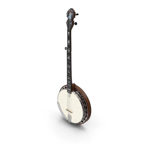 Julia Belle 5 String Banjo PNG & PSD Images