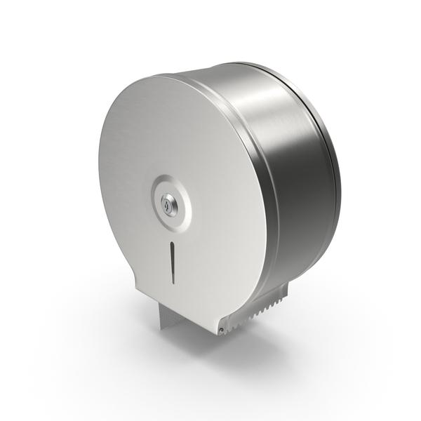 Paper: Jumbo Toilet Tissue Dispenser PNG & PSD Images