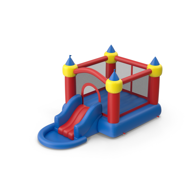 Toy Castle: Jump Slide Bouncer PNG & PSD Images