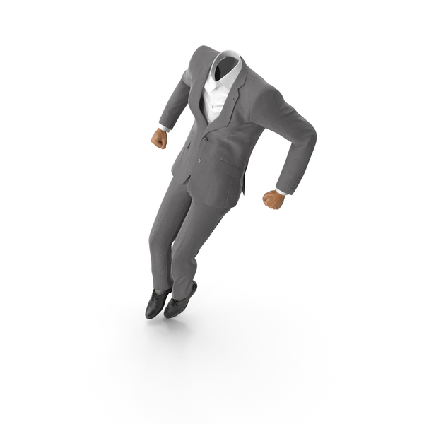 Clothing: Jumped Up Suit Grey PNG & PSD Images