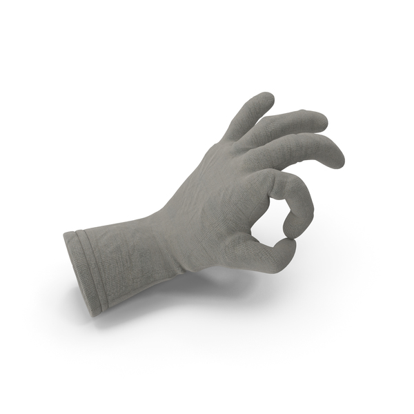 Jute Glove Ok Gesture PNG & PSD Images