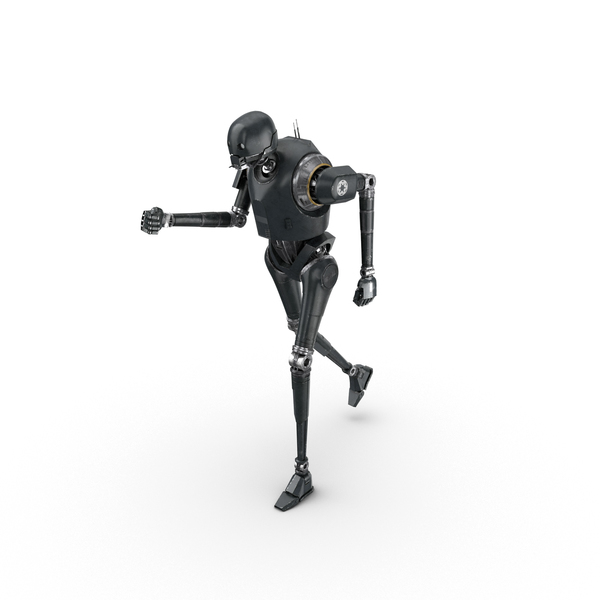 K-2SO Running Pose PNG & PSD Images