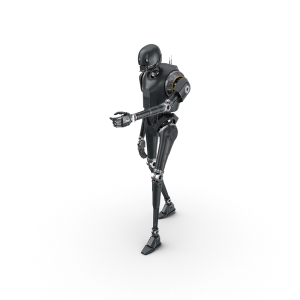 K-2SO Shooting Pose PNG & PSD Images