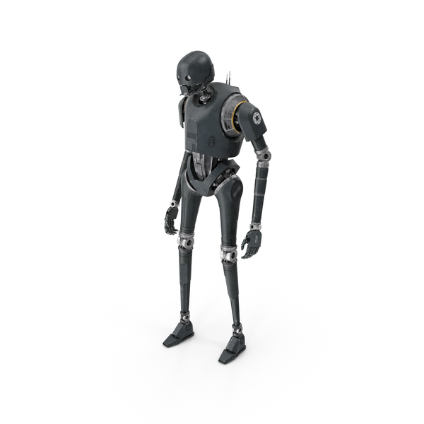 Android: K-2SO Standing Pose PNG & PSD Images
