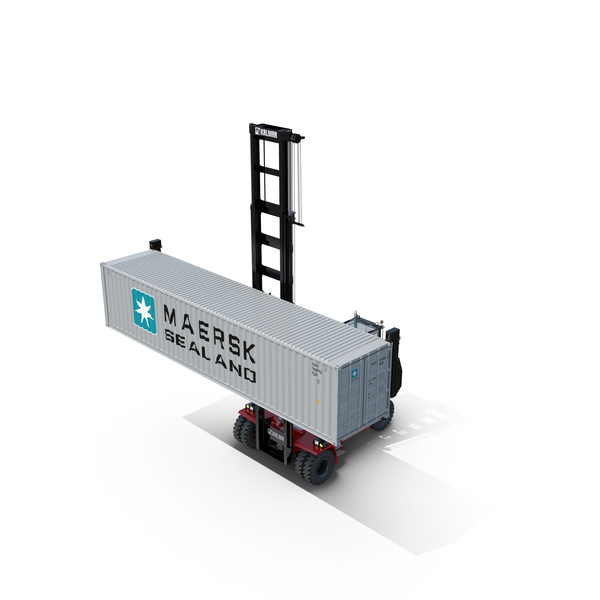 Kalmar DCG80-100 Container Handler PNG & PSD Images