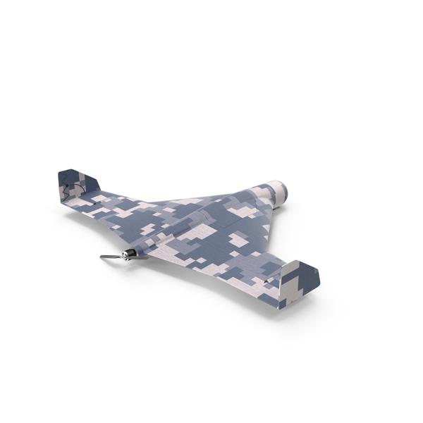 Uav: Kamikaze Drone Winter Camouflage PNG & PSD Images