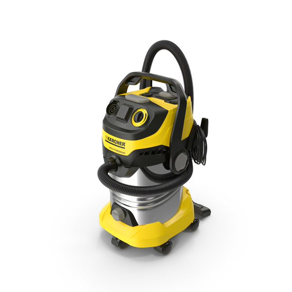Karcher WD6 Multi-Purpose Vacuum Cleaner Folded PNG & PSD Images