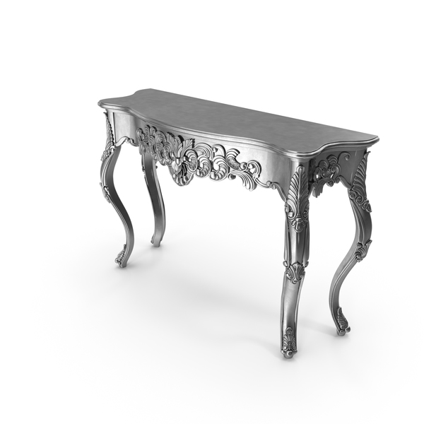 Kare Design Baroque Ornamenet Big Console Table PNG & PSD Images