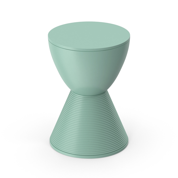 Kartell Prince Stool Green PNG & PSD Images