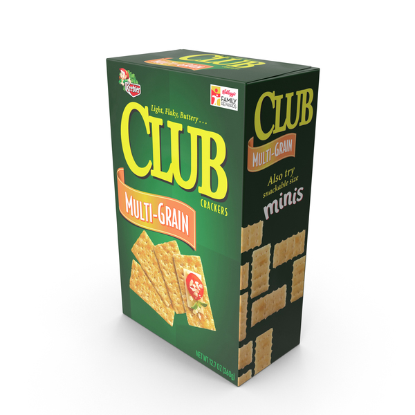 Keebler Multi-Grain Club Crackers PNG & PSD Images